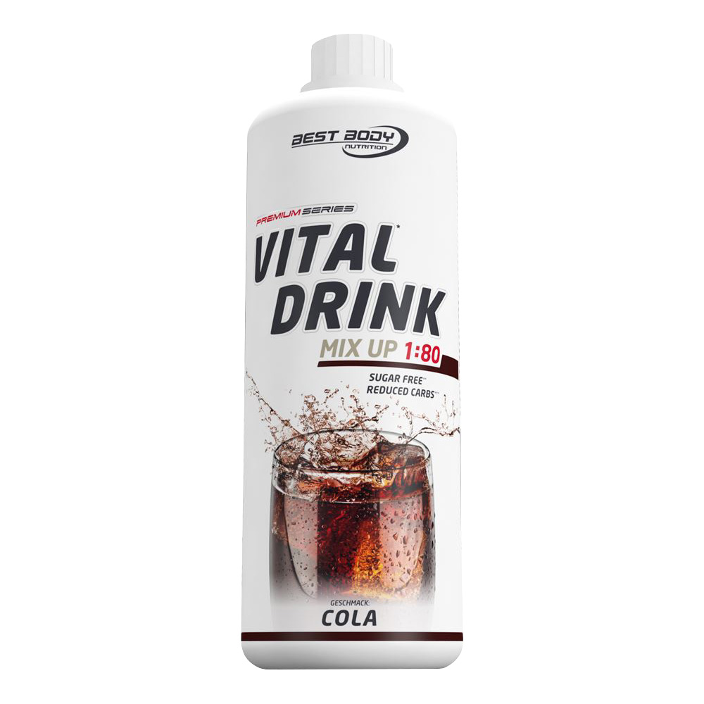 Cola Kola Mineraldrink Nutrition Getränkekonzentrat kalorienarmer Vital Drink 1L